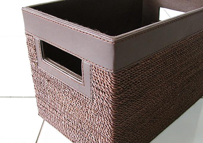 アジアン雑貨 アバカの収納ボックス AB-001