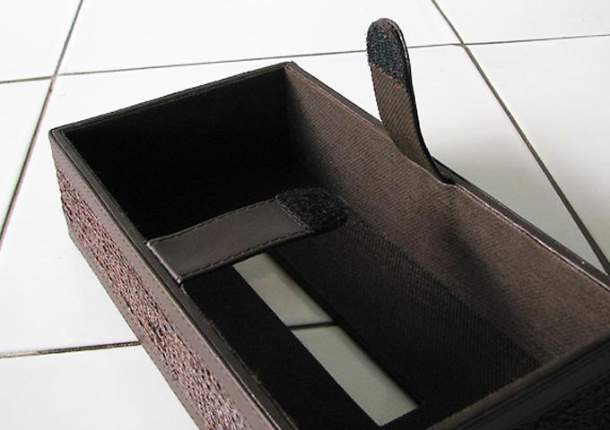 アジアン雑貨 アバカのティッシュボックス AB-006