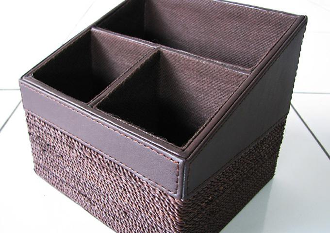 アジアン雑貨 アバカの収納ボックス AB-007