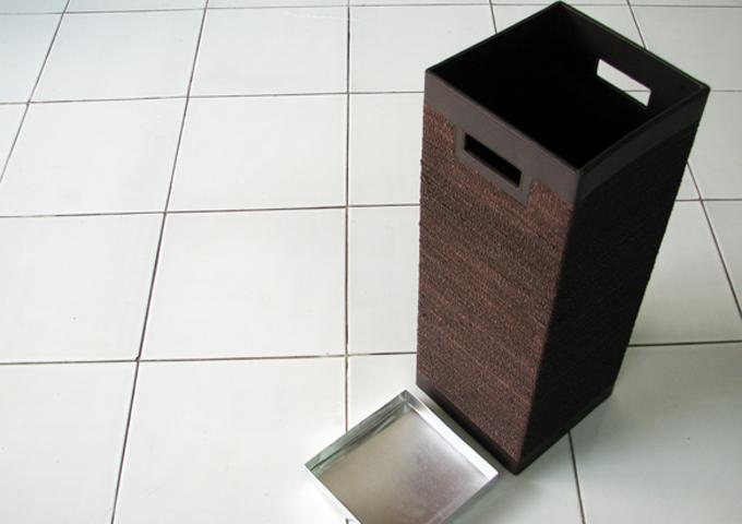 アジアン雑貨 アバカの傘立て AB-015