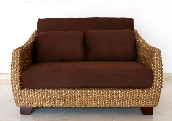 アジアン家具 ウォーターヒヤシンスのソファ CC-WS21-2P