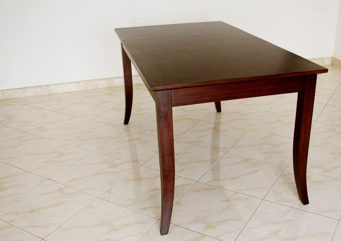 アジアン家具 ウォーターヒヤシンスのダイニングテーブル DT-02