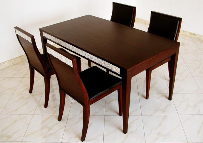 アジアン家具 ウォーターヒヤシンスのダイニングテーブル DT-04