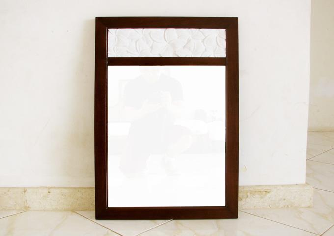 アジアン家具 ウォーターヒヤシンスの鏡・ミラー SMR-01