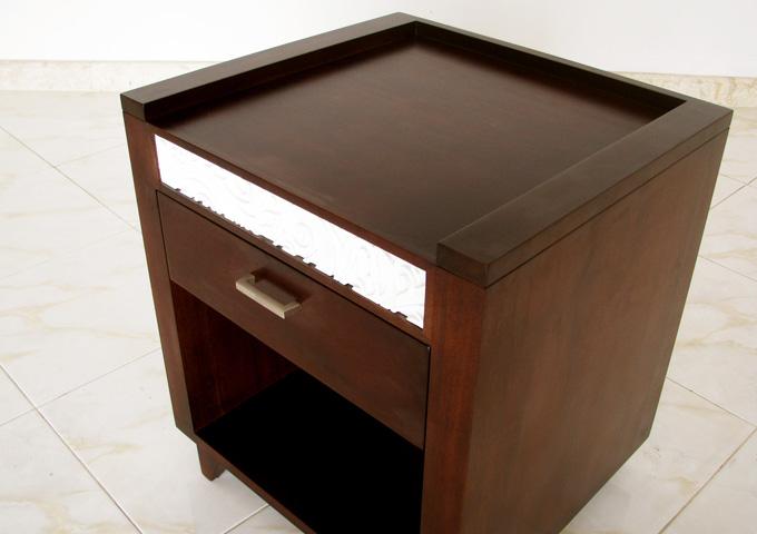 アジアン家具 ウォーターヒヤシンスのナイトテーブル SR-05