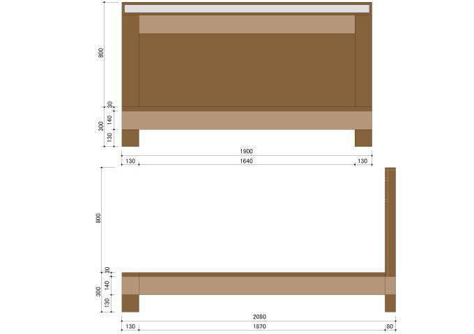 アジアン家具 ウォーターヒヤシンスのベッド WBD-03(K)