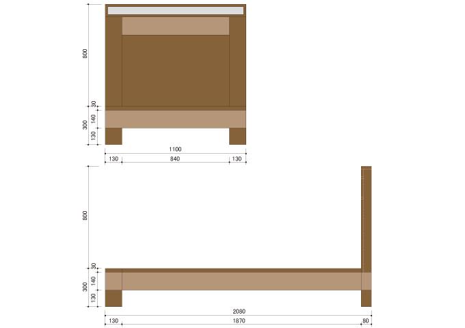アジアン家具 ウォーターヒヤシンスのベッド WBD-03(S)