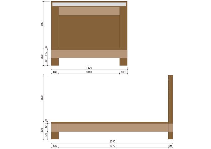 アジアン家具 ウォーターヒヤシンスのベッド WBD-03(SD)