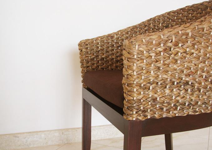 アジアン家具 ウォーターヒヤシンスの椅子 WC-02