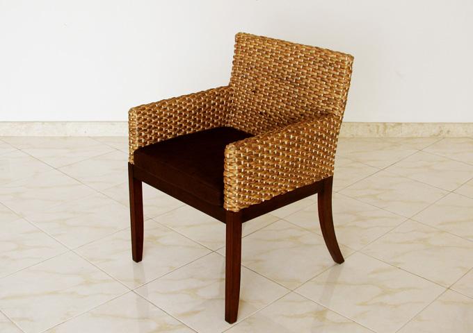 アジアン家具 ウォーターヒヤシンスの椅子 WC-12