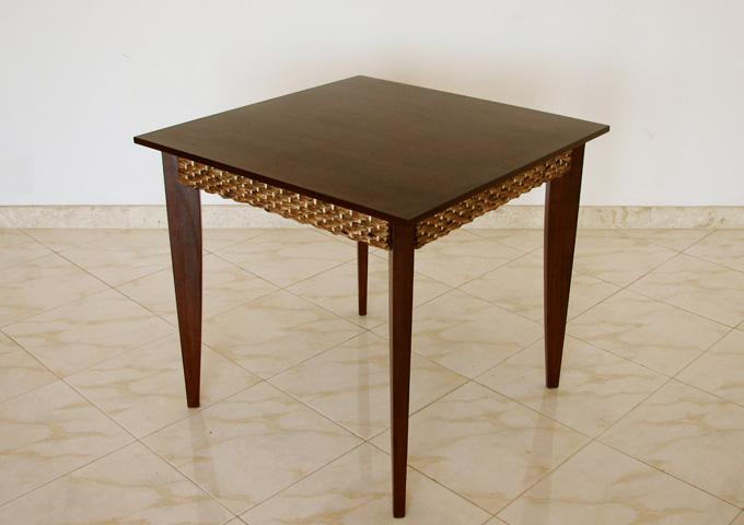 アジアン家具 ウォーターヒヤシンスのダイニングテーブル WCT-04