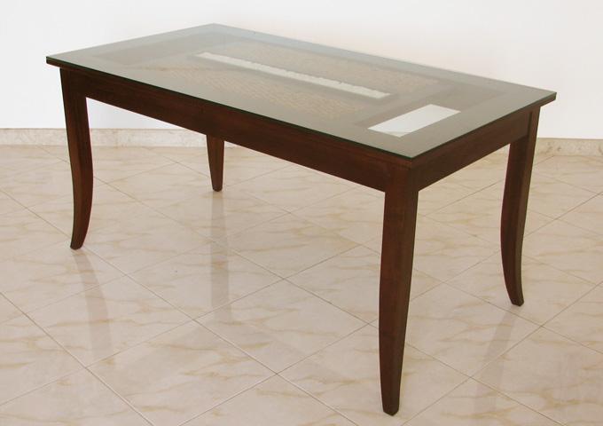 アジアン家具 ウォーターヒヤシンスのダイニングテーブル WDT-05