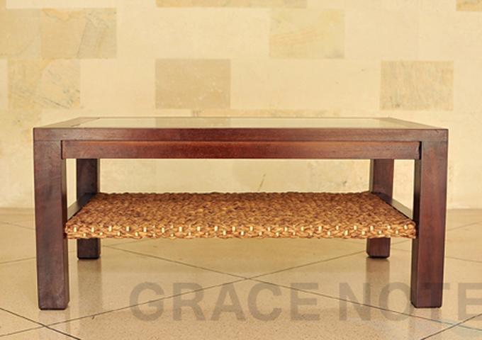 アジアン家具 ウォーターヒヤシンスのテーブル WLT-02
