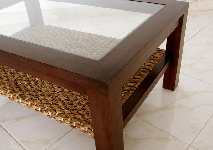アジアン家具 ウォーターヒヤシンスのテーブル WLT-04