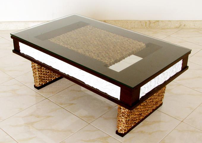 アジアン家具 ウォーターヒヤシンスのテーブル WLT-06
