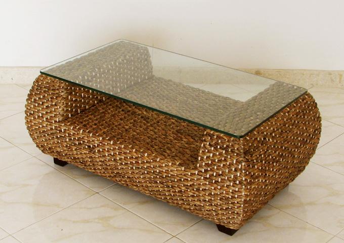 アジアン家具 ウォーターヒヤシンスのローテーブル・テーブル