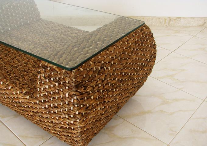 アジアン家具 ウォーターヒヤシンスのテーブル WLT-07