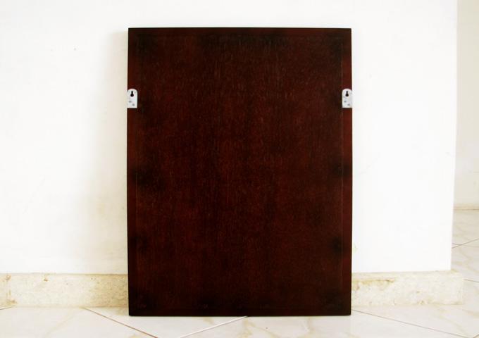 アジアン家具 ウォーターヒヤシンスの鏡・ミラー WMR-01