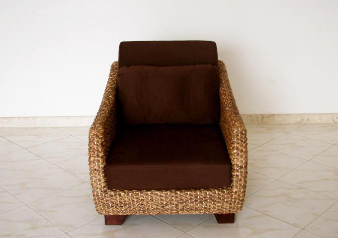 アジアン家具 ウォーターヒヤシンスのソファ WS21-1P