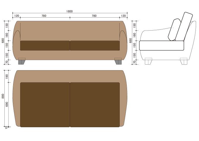 アジアン家具 ウォーターヒヤシンスのソファ WS21-3P