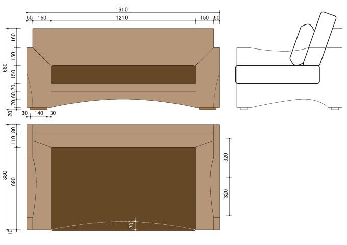 アジアン家具 ウォーターヒヤシンスのソファ WS26-2P