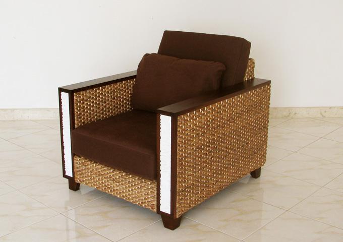アジアン家具 ウォーターヒヤシンスのソファ WS36-1P