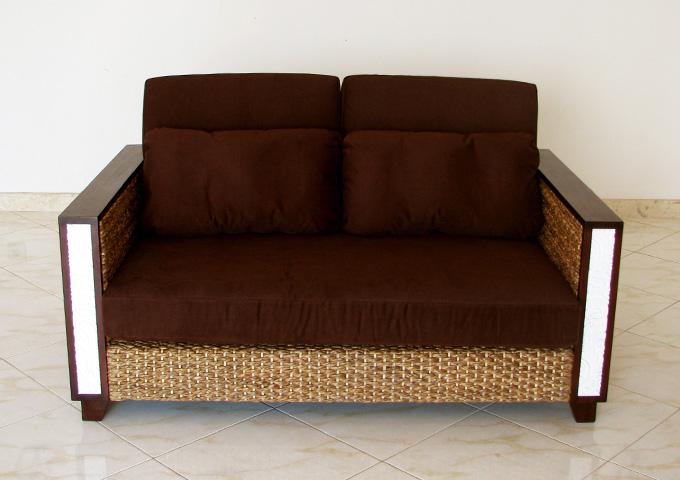 アジアン家具 ウォーターヒヤシンスのソファ WS36-2P