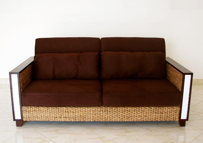 アジアン家具 ウォーターヒヤシンスのソファ WS36-3P