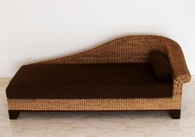 アジアン家具 ウォーターヒヤシンスのデイベッドソファ・カウチ WS50-L