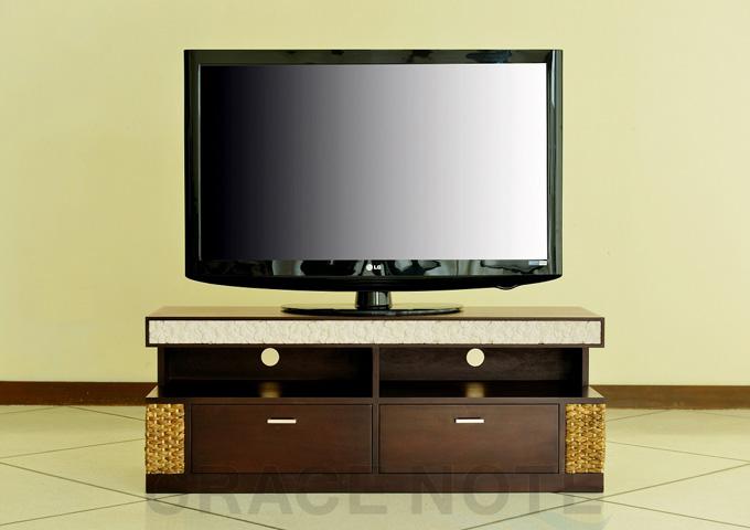 アジアン家具 ウォーターヒヤシンスのテレビラック・テレビ台 WTV-08