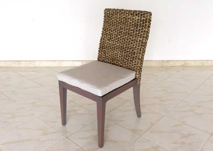 アジアン家具 ウォーターヒヤシンスの椅子・チェア WC-06